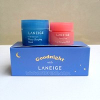 Jual laneige goodnight sleeping care kit    ORIGINAL Murah