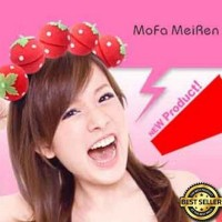 Jual Termurah Magic Strawberry Roll Sponge Hair Curler Ikal Aman Tanpa Murah