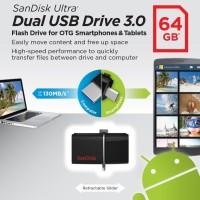 Jual Flash Disk Sandisk Dual Drive 64GB - 1FDSADUD64G Murah