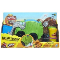 Jual Play-Doh Diggin Rigs Trash Tossin Rowdy The Garbage Truck - A3672 Murah
