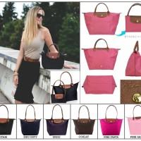 Jual Folding Longchamp Bag / Tas Longchamp Lipat Big Size 44*27*17 Murah