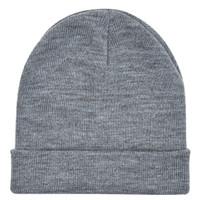 Jual GHJ topi kupluk abu tua dark grey beanie hat import Murah