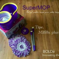 Jual Super MOP BOLDe M168X+ PLUS ( Lubang Air) Original Murah