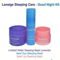 Jual LANEIGE Sleeping Mask Care Good Night kit ( 3 items ) Murah