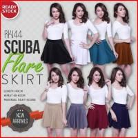 Jual Scuba Flare Skirt Murah