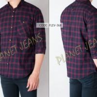 Jual [NEW] Kemeja flanel / baju flannel untuk pria / cowok tangan panjang Murah