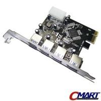 Jual PCI Express PCI-e USB 3.0 4 port HighSpeed Ports Card GRC-PCIe-USB3-4P Murah