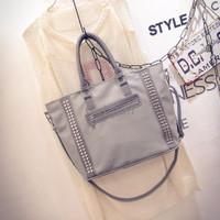 Jual Tas Tote / Shopper Bag Studded Gray Togo DST10094 Murah