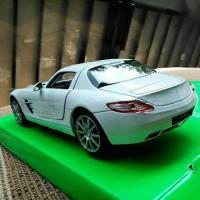 Jual Mercedes Benz SLS AMG Putih - Diecast Welly 1:24 Murah
