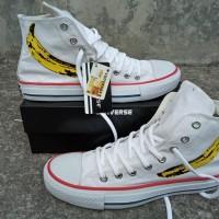 Sepatu Converse Chuck Taylor Andy Warhol Banana Putih