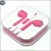 Earphone handsfree headset Apple for iPhone 5 (OEM) pink Y1352