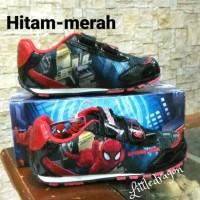 Jual sepatu spiderman #sepatu anak laki-laki #sepatu sekolah Murah