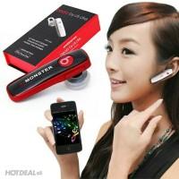 Headset Bluetooth Beats DH60 Monster by Dr Dre Head Set Wireless 2 HP