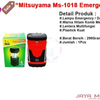 harga Mitsuyama Ms-1018 - 6 Led Jm Lentera Tarik Emergency / Lampu Darurat Tokopedia.com
