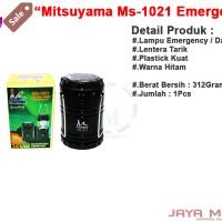 harga Mitsuyama Ms - 1021 - 12led Jm Lentera Tarik Emergency / Lampu Darurat Tokopedia.com