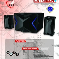 Jual Speaker SIMBADDA CST 4800N+, USB, MMC, Bluetooth, Blue LED, FM Radio Murah