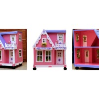 Rumah Rumahan Barbie Ukuran Sedang