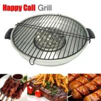 Jual Alat Bakaran Sate Daging - Kompor Gas Fancy Grill Happy Call 32cm Murah