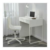 IKEA MICKE Meja Kerja, Meja Komputer, Meja Belajar 73x75 cm, Putih
