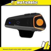 Motorcycle Helmet Bluetooth Interphone Headset 1000 Meter - Bt-S2