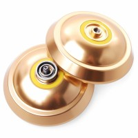 Ro5| Magic Yoyo T8 Shadow Yoyo Ball Clutch Alloy, Alumunium Gold