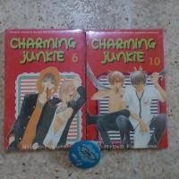 komik charming junkie cabutan nomor 6 dan 10 /ryoko fukuyama / segel