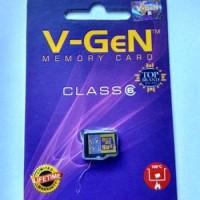 Micro SD Card V-Gen / VGen 16GB Memory Card 16 GB SDHC HC V Gen