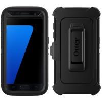 Jual Samsung S7 flat edge case OTTERBOX DEFENDER cover belt clip cover kuat Murah