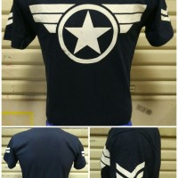 Jual OP3435 Kaos Captain America Navy KODE Bimb3912 Murah