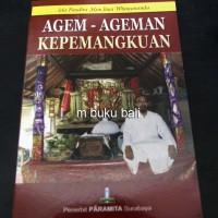 Agem-ageman Kepemangkuan - buku bali hindu