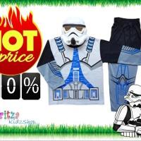 Baju Anak / Stelan / Kostum Star Wars 1-10 tahun