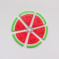 Jual Kawaii Watermelon Charm - Handmade Fimo Clay Crea_Shop Murah