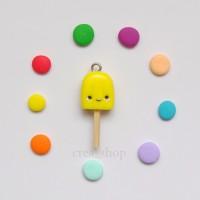 Jual Kawaii Popsicle Clay Charm - Handmade Fimo Clay Charms Murah