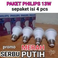 Jual LAMPU LED PHILIPS 13W PAKET HEMAT LEBIH MURAH Murah