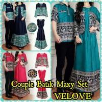 Couple Batik Maxy Set Velove