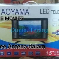 TV LED 15 IN AOYAMA USB, HDMI, VGA