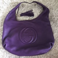 VGC Tas Gucci Soho Hobo Large Purple Original