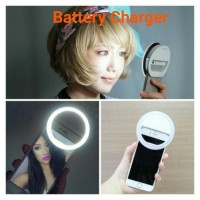 Jual Selfie Ring Light LED charm eyes Portable Clip Murah