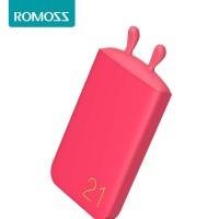 Jual Romoss Lovely Elf Powerbank Kapasitas REAL 6000 mAh ASLI - Soft Red Murah