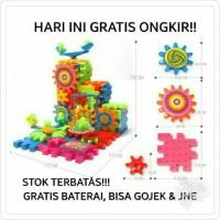 Jual MAINAN ANAK LAKI COWOK EDUKASI FUNNY GEAR BRICK SUSUN ROBOT LEGO GERAK Murah