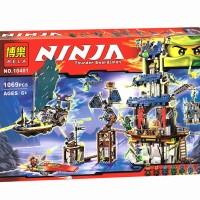 Mainan Edukasi Lego Bela Ninja Thunder Swordsman 10401