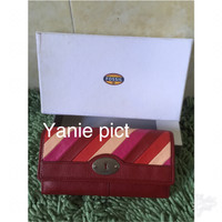 Fossil Marlow PW Flap Clutch Bright NWT