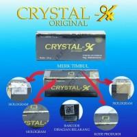 Jual crystal-x-cristal-x-kristal-x-crystal-x-original-bpom Murah