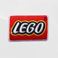 EMBLEM PATCH LEGO Full Bordir Full Benang Ukuran : 7x5cm