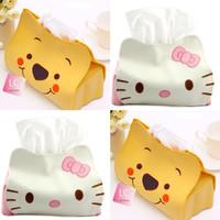 Jual tempat sarung tissue tisu mobil toilet hello kitty pooh karakter Murah
