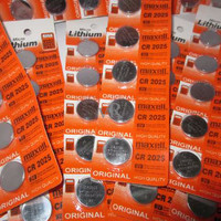Jual baterai batre batry batray bateray jam digital cb2025 cb 2025 maxell Murah