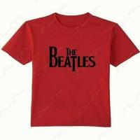 Jual tshirt anak the beatles (custom) Murah