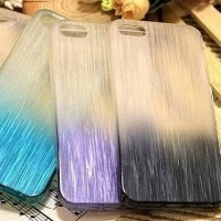 Jual thin ombre jelly case softcase soft ip iphone 4 5 samsung grand 1 2 Murah