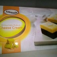 brownis kukus AMANDA CHEESE CREAM