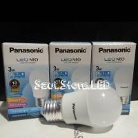 LED Bulb 3w - Panasonic - Lampu E27 Hemat Energi